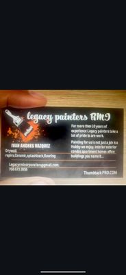 Avatar for Legacy Painters RMI Corporation