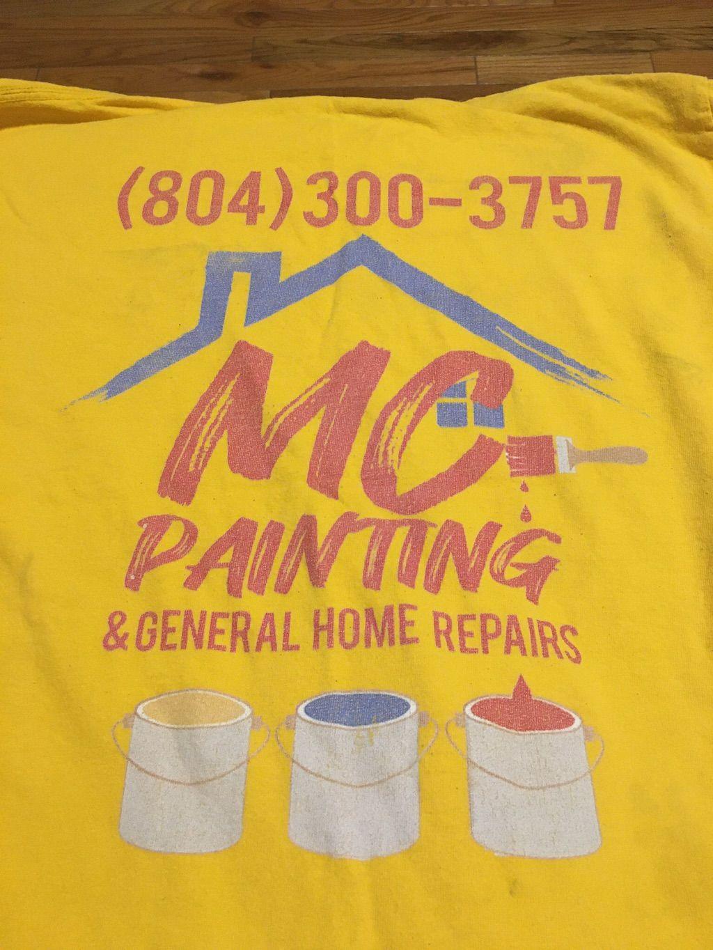 MC Painting  and   General homes  Repairs