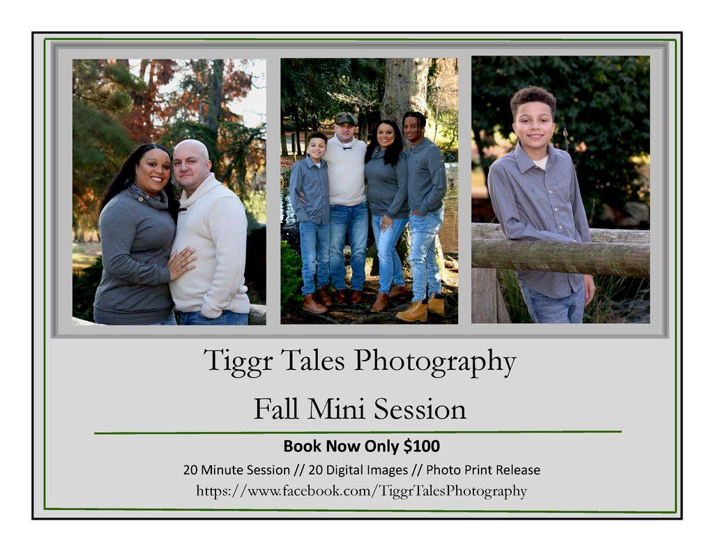 Fall Mini Sesssions