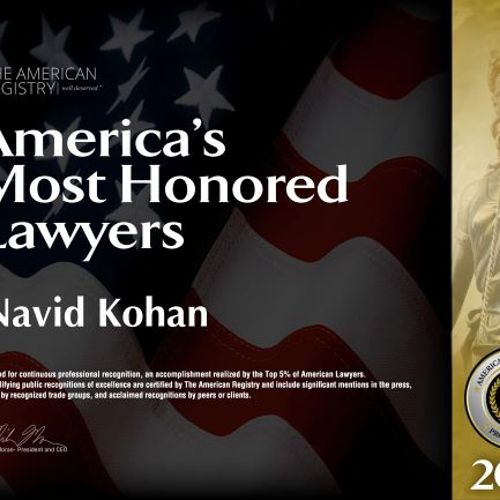 Bankruptcy Attorney Most Honored