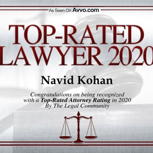 Top Rated Bankruptcy Attorney Navid Kohan