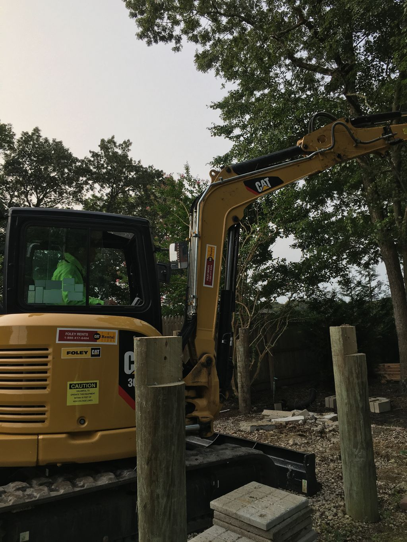 Removing pilings