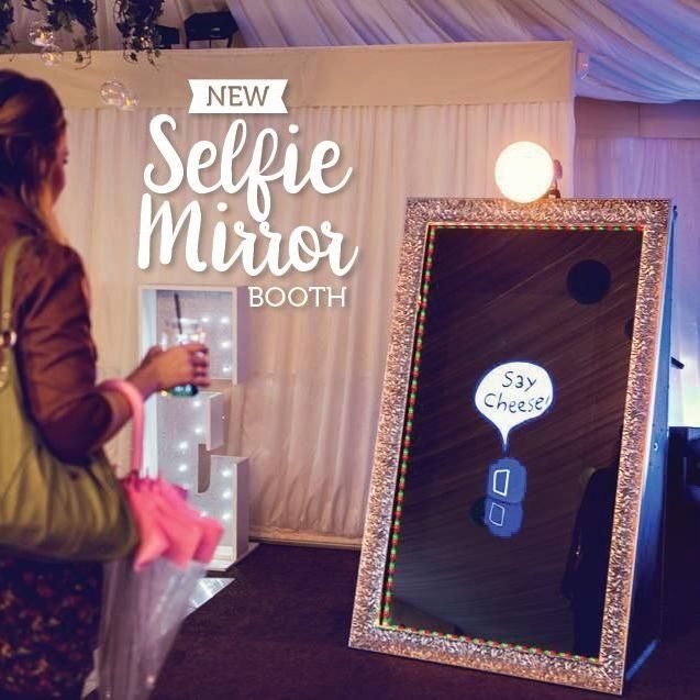 (Magic Mirror) Party Portraits Photo Booth Rentals
