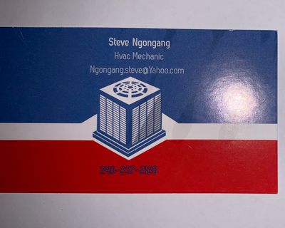 Avatar for Steve Ngongang Heating and air services