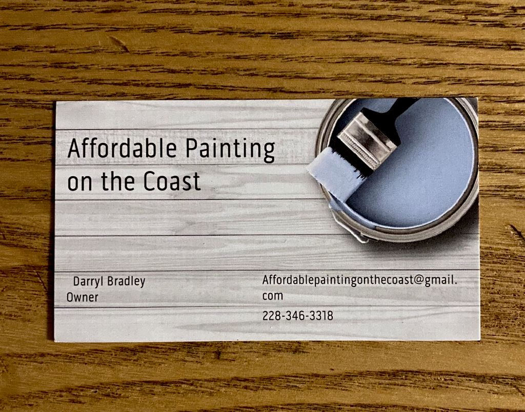Affordable Painting on the Coast