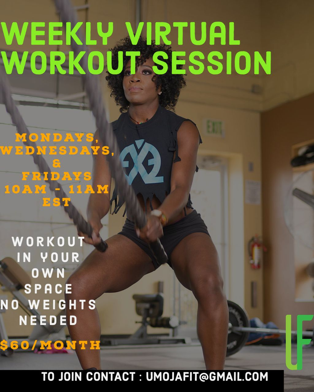 Virtual Group Workout Sessions