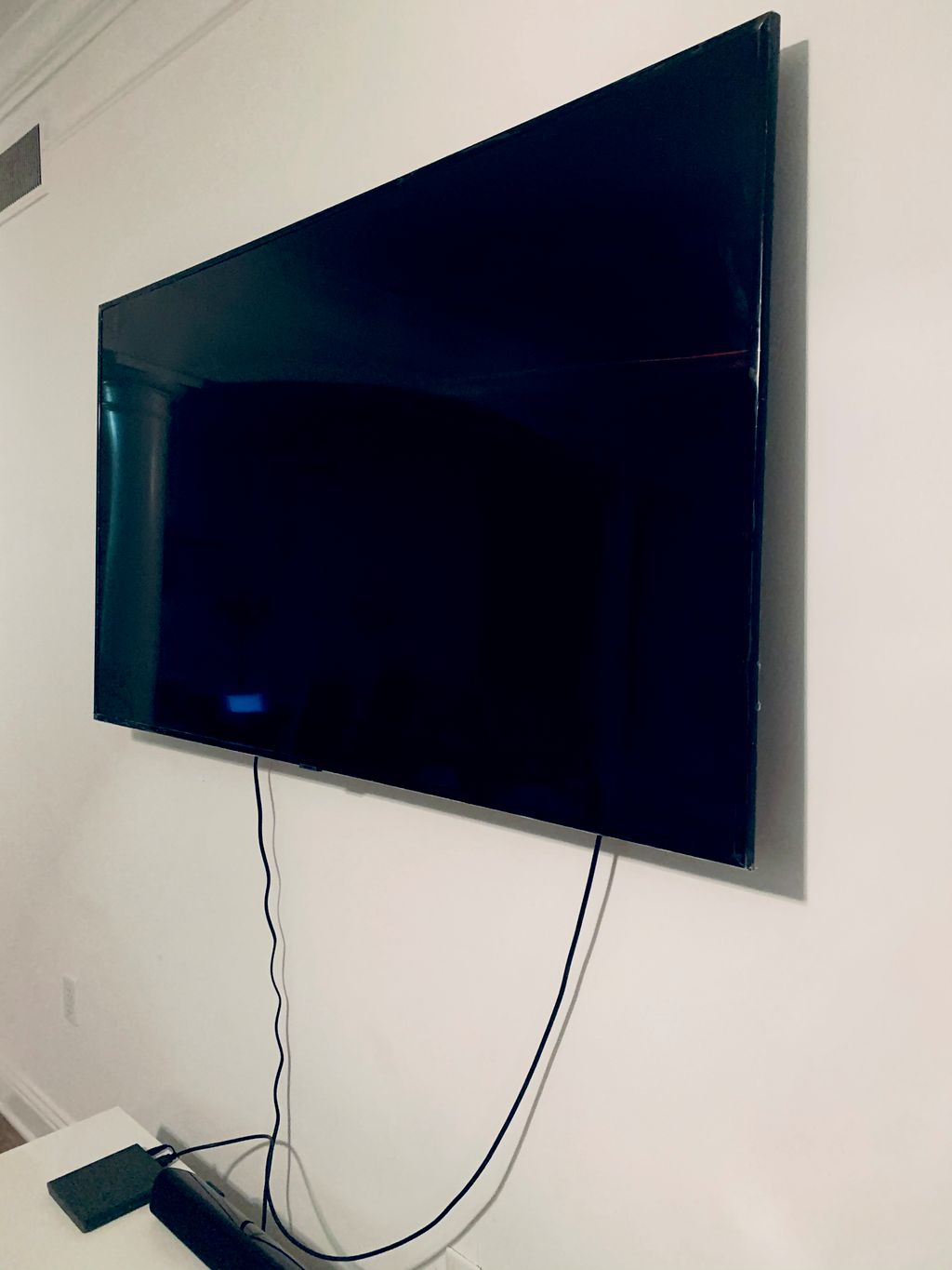 TV mount & Entertainment Table Install
