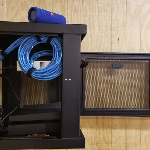 Network Cabinet Build