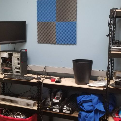 Our Tech Room