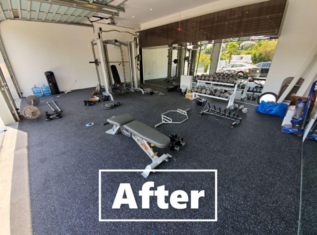 Garage to Gym Conversion