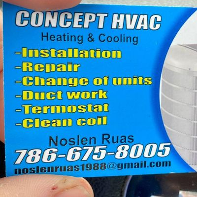 Avatar for Concept HVAC Corp