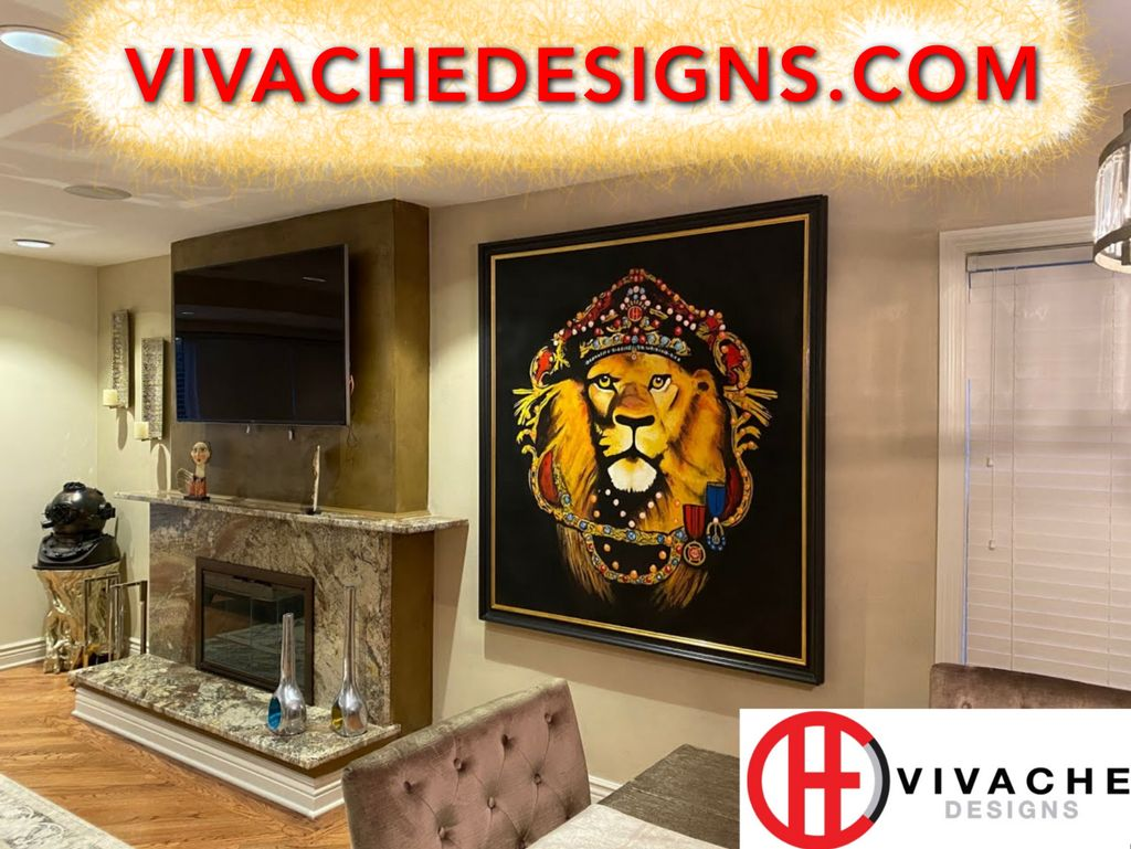 Custom Art - Call or Text 1-866-568-7257 or DM at VIVACHEDESIGNS