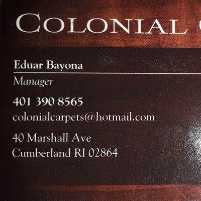 Avatar for Colonial carpets