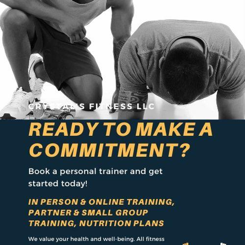 Fitness flyer 9/2020