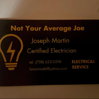 Avatar for Joe's Electric