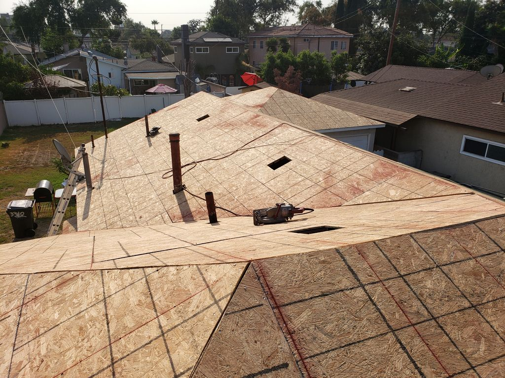 complete Re-roof
