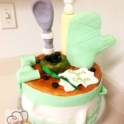 Kitchen Party cake!!
