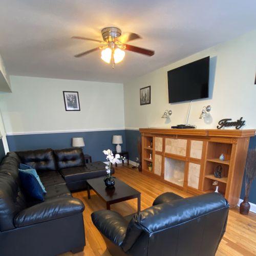 Logan Square Living Room