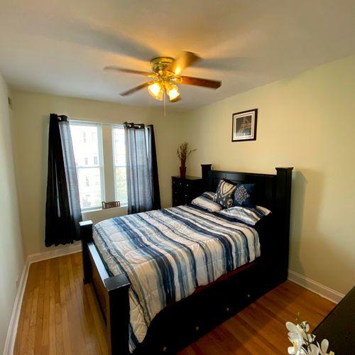Logan Square - Bedroom