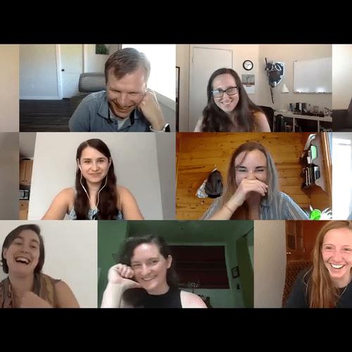 Virtual show reactions
