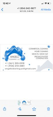 Avatar for Angell cleaning