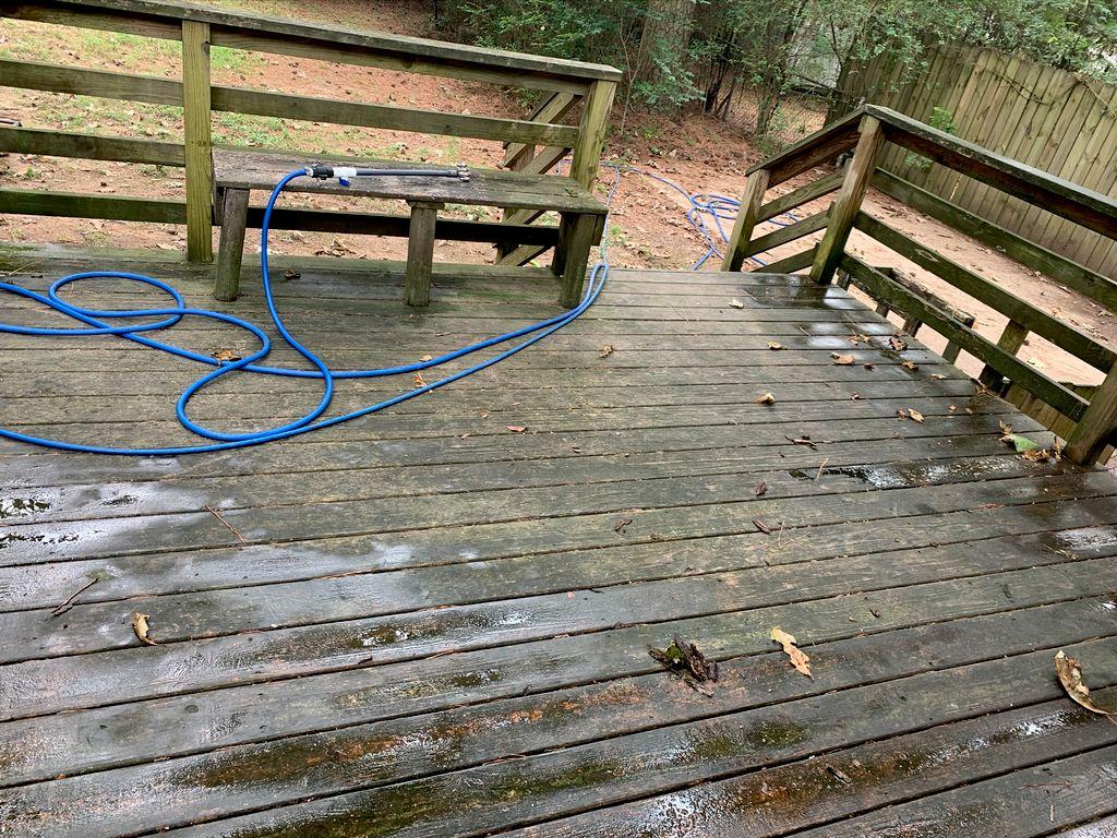 20 year old deck restoration
