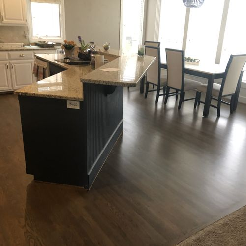 Refinished Kitchen