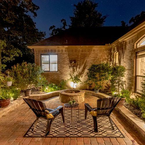 Twilight of Porch