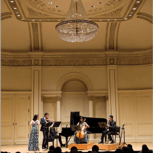Performing with Cosmos New Music at Carnegie Hall