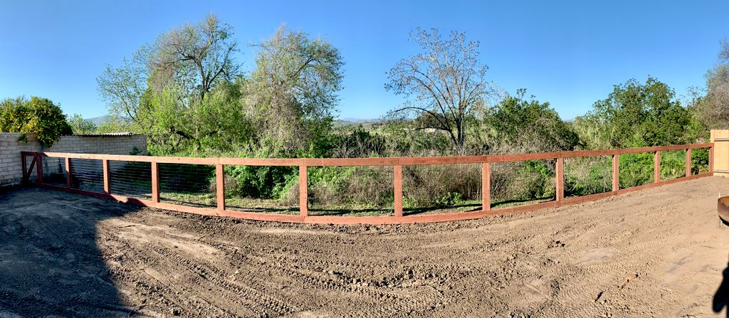 Ranch Style Dog Fence