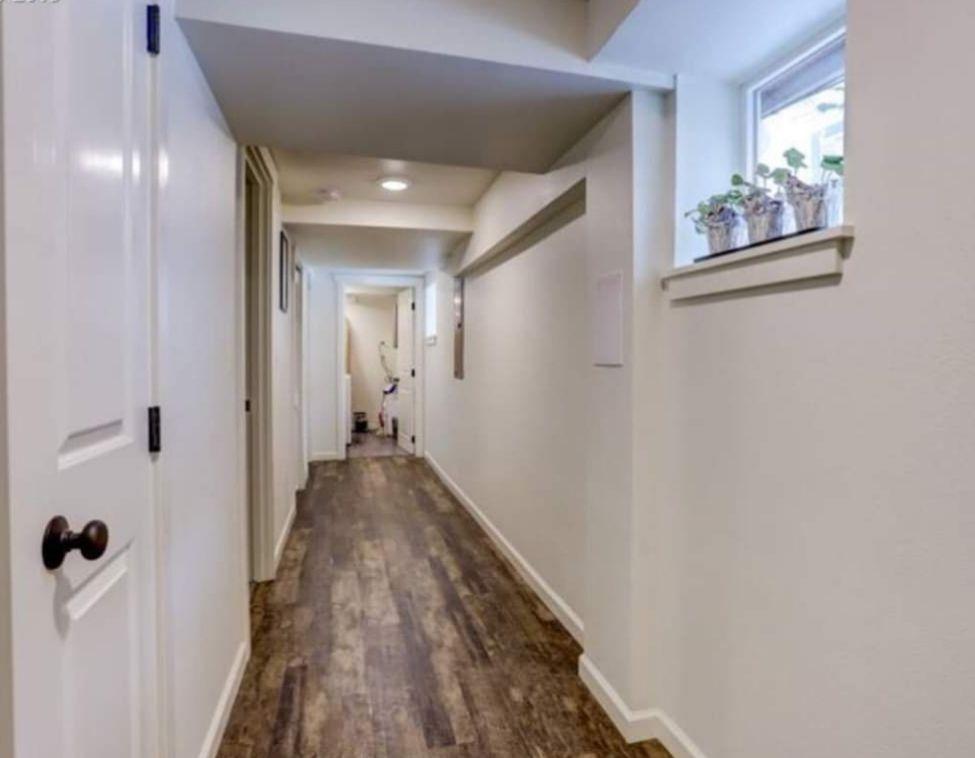 Portland basement remodel