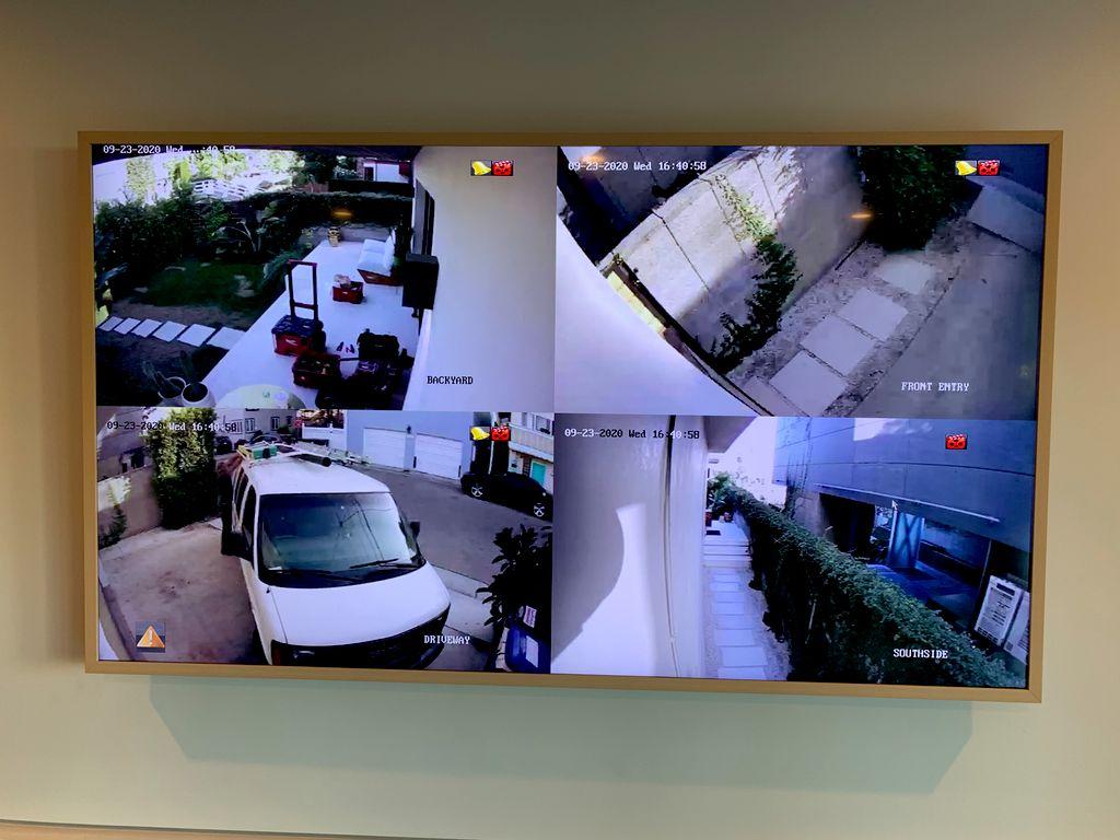 CCTV IP Camera System