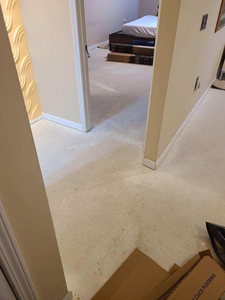 Carpet to LVP