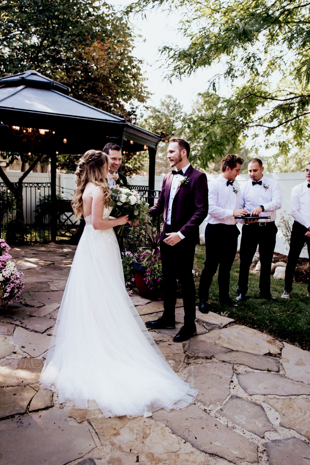Olive and Jon Wedding Day