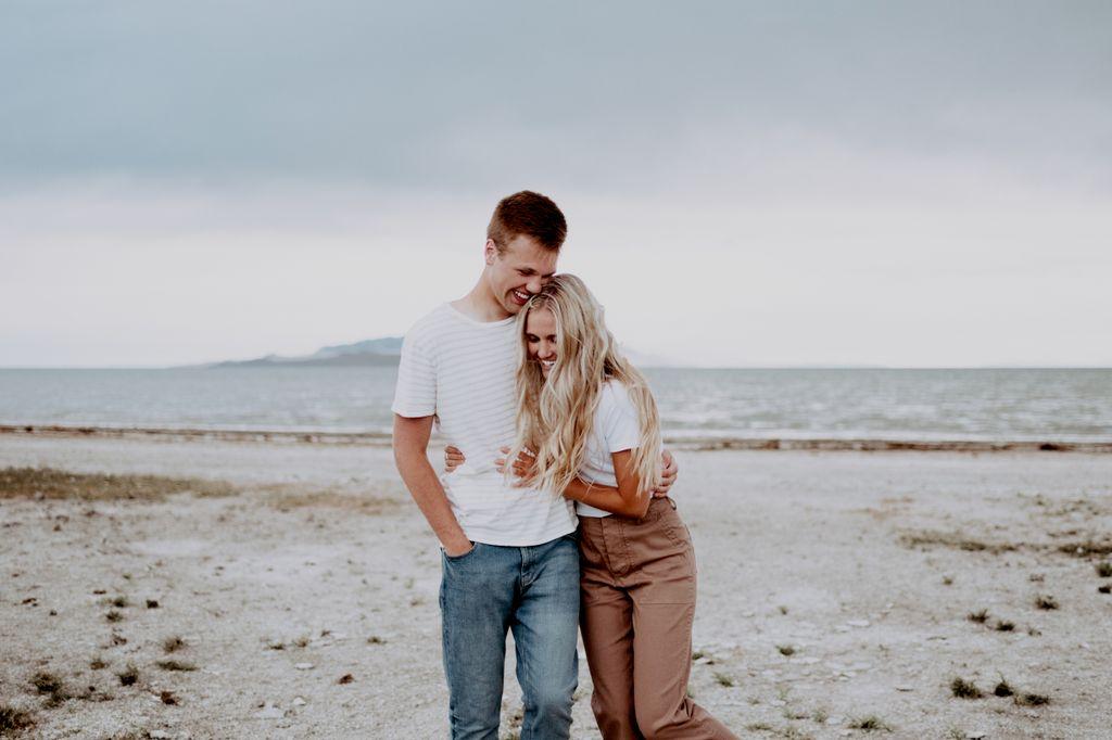 Jenessa and Caleb Engagement Session