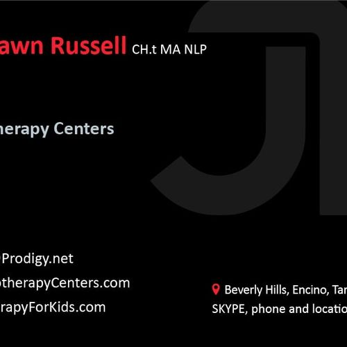 Jessica Dawn Russell Therapy Front Card