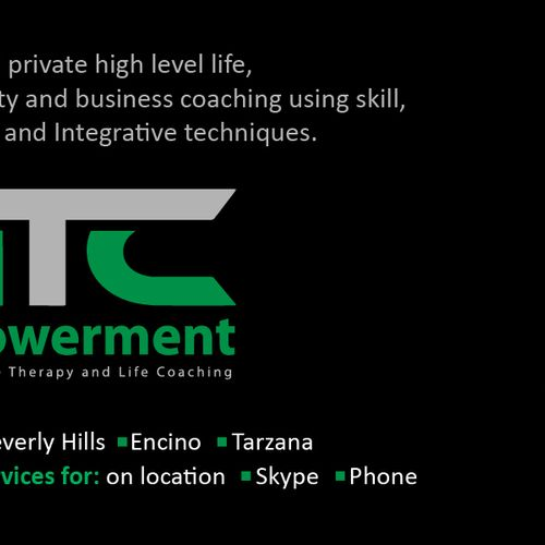 HTC Empowerment High level coaching Back of business card