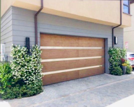 Wood Garage Door Instillation
