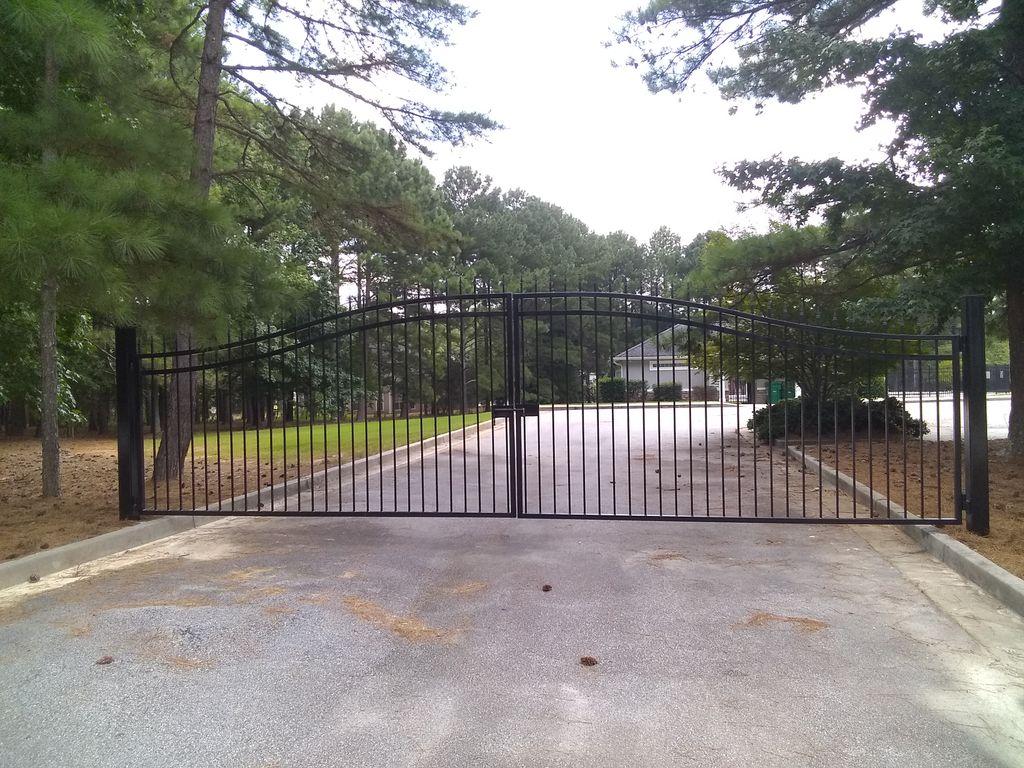 Pool facility gates