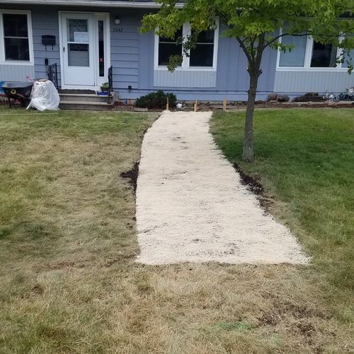After sewer repair