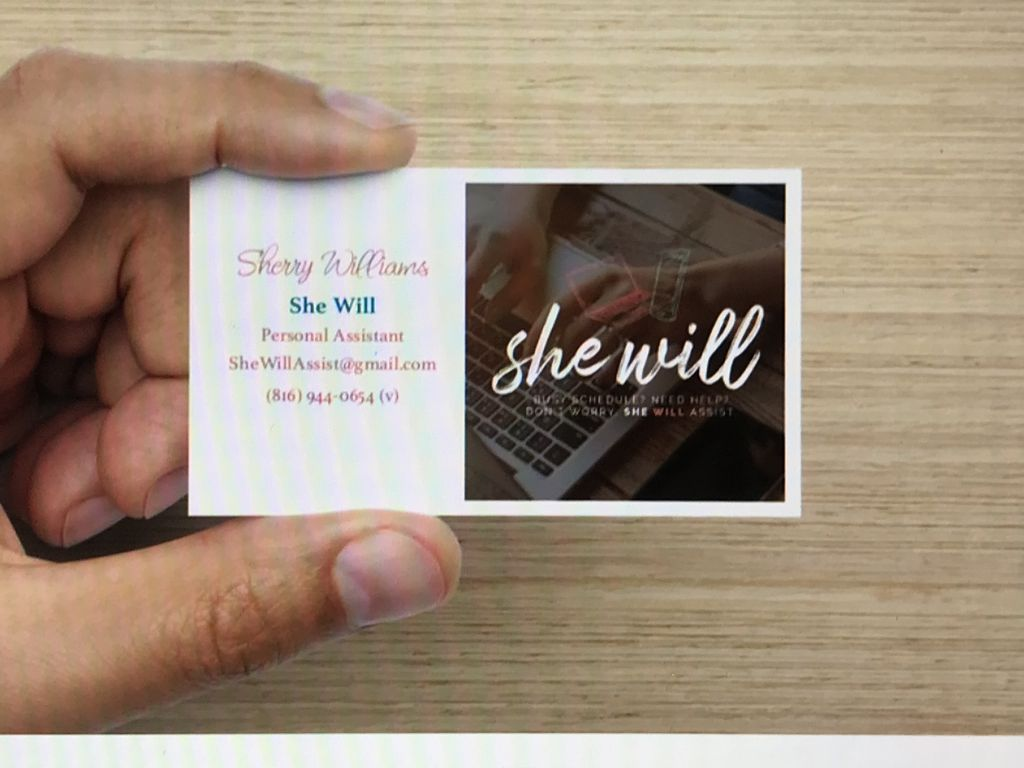 Design and order business cards