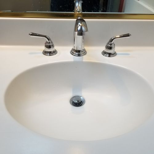 New lavatory faucet