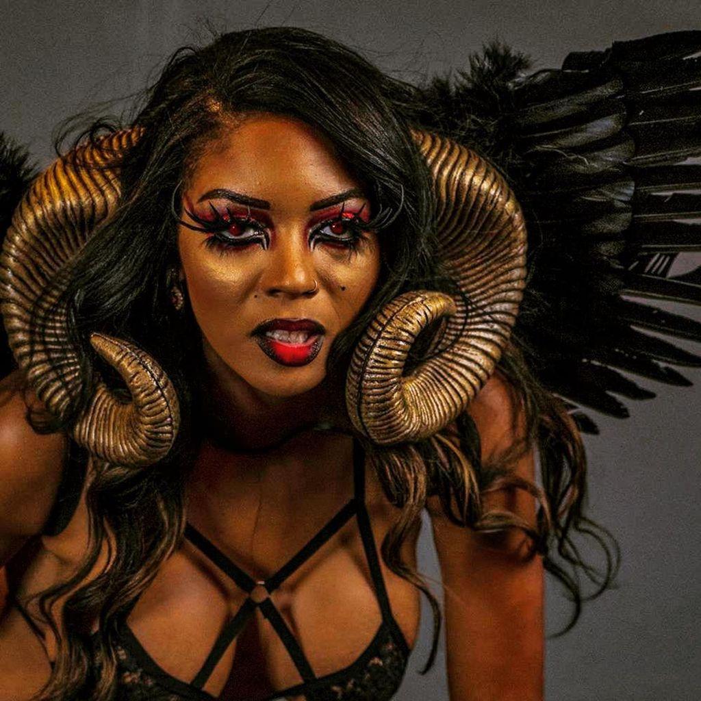 Halloween Transformation Makeup