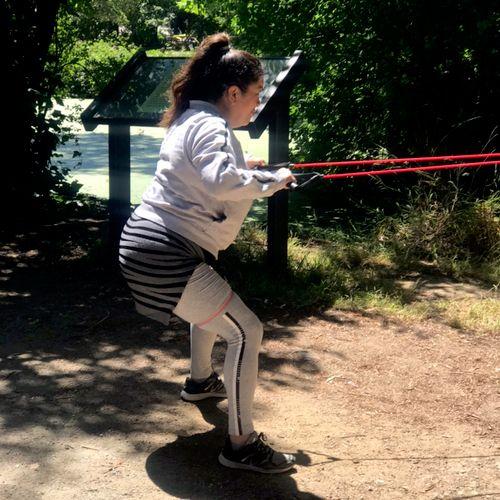 Lake Temescal Oakland. Fun refreshing work out!!