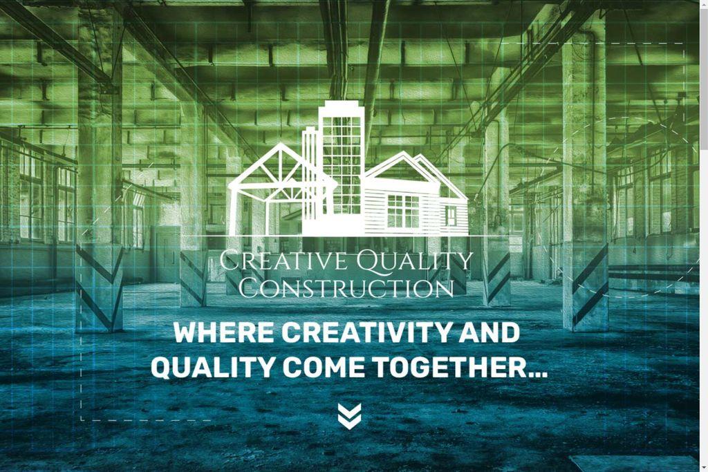 Creative Quality Construction Website