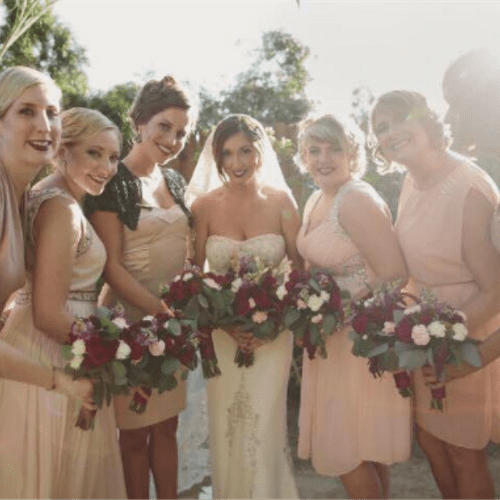 tell us about your Bridal party group