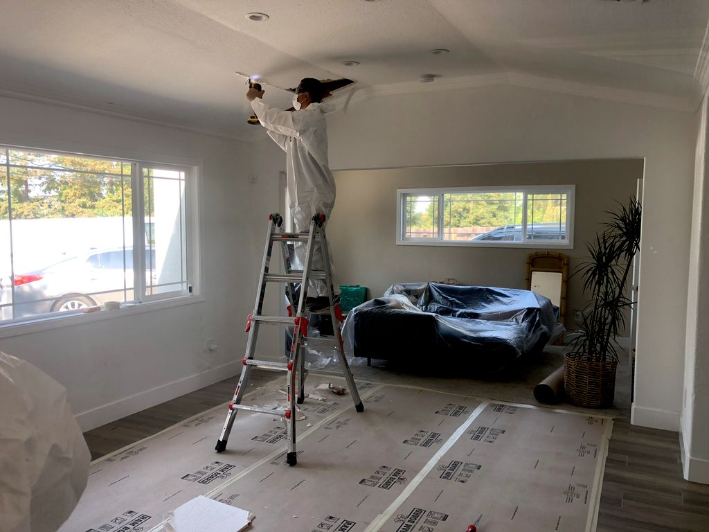 Ceiling Insulation Replacement
