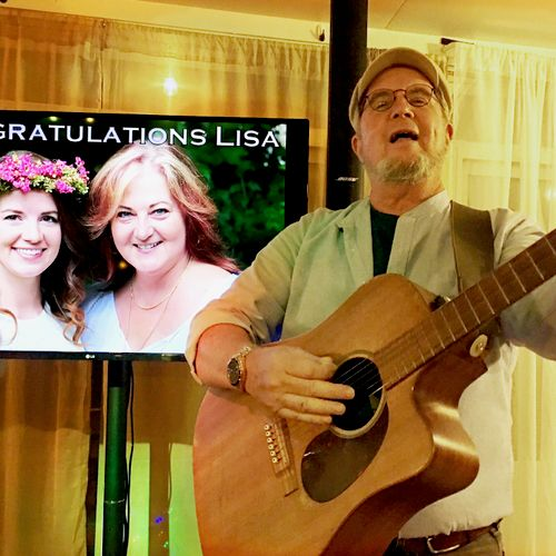 Add personalized images and music to your event.