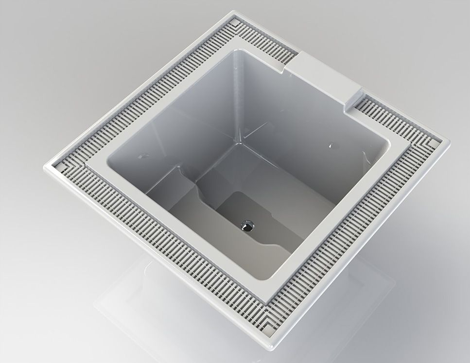 Americh Bathtub 3D Visualization