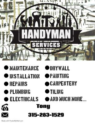 Avatar for Tony handyman services / Snowplowing
